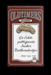 Zoethoudertjes - Oldtimers, braun