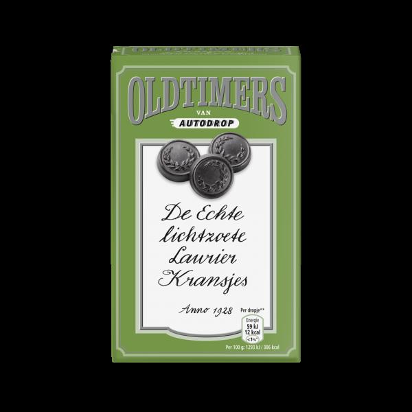 Laurier Kransjes - Oldtimers, lichtgrün